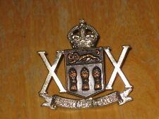 KC Canadian Cap Badge 20th Armoured Car Regiment nice