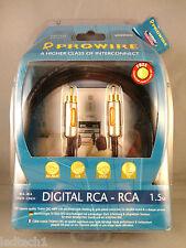Vivanco Prowire 1.5m Digital RCA-RCA Cable  *** BNIB ***
