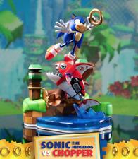 Sonic The Hedgehog vs Chopper First 4 Figures F4F Diorama Statue SEGA UK Seller