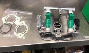 Jenvey 38mm Throttle Body / Bodies - MCT Norton 961 - New Old Stock - NOS