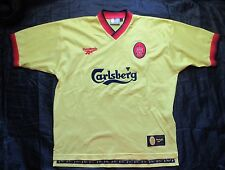 The Reds FC LIVERPOOL Away jersey shirt REEBOK 1997-1999 PERFECT adult SIZE L