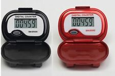 PedUSA SM-2000 Step Pedometer - LCD Display Walking