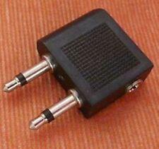 Soytich Flugzeugadapter Kopfhörer Audio Adapter für Flugzeug Mono Stereo (fIug)