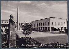 RAVENNA LUGO 17  BANCA  CASSA Di RISPARMIO - MONUMENTO a BARACCA  FOTOGRAFICA