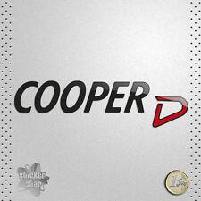 STICKER MINI COOPER D RED CAR COCHE VINILO ADHESIVO PEGATINA DECAL VINYL