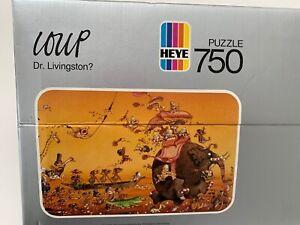 HEYE Friedrich Vintage RARE LOUP Dr. Livingston 750 Puzzle 1983