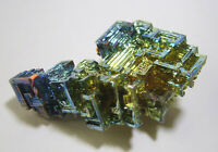 +++ Wismut Kristall // synthetisch +++ bismuth crystal Stufe Sammlung | Nr.7