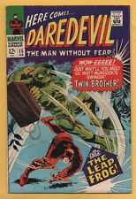 Daredevil #25 Marvel Comics 1966 Gene Colan Art 1st Appearance Leap Frog Vf