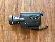 Vintage Minolta XL601 Super 8 Film Camera for Parts or Repair