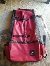 Amelia Nest Dog Carrier Backpack, Extra Large, Red