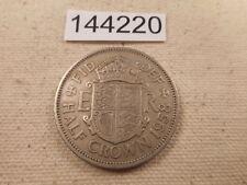 1958 Great Britain Half Crown Very Nice Collector Grade Album Coin - # 144220