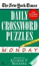 The New York Times Daily Crossword Puzzles (Monday), Volume I by Nyt
