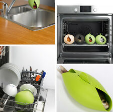 Silicone Steamer Cooker Baking Roaster Bread Fish Vege Food Bowl Kitchen Tool