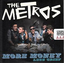 THE METROS More Money Less Grief 2008 UK 12-trk numbered promo test CD sealed