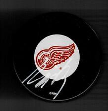 Jakub Kindl Signed Detroit Red Wings Puck
