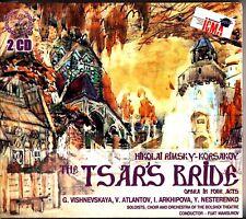 Rimsky-Korsakov: The Tsars Bride Opera 2-CD (NEW) Fuat Mansurov (Vishnevskaya)
