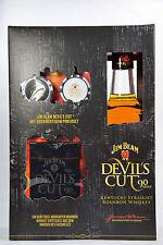 Jim Beam Devils Cut Geschenkset mit Pokerset 0 7l 45