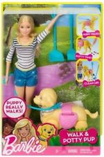Mattel - Barbie - Walk & Potty Pup [New Toy] Paper Doll, Toy