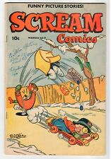 Ace Magazines - SCREAM COMICS #7 -  G 1945 Vintage Comic