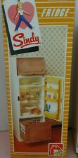 Vintage Pedigree Sindy Boxed Complete 1983 Mint Working Fridge Refrigerator MIB