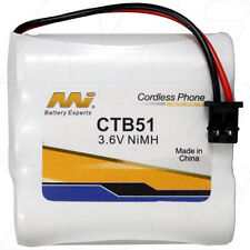 3.6V Replacement Battery Compatible with Panasonic PQHHR115AA31