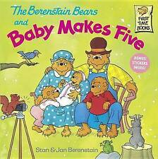 The Berenstain Bears and Baby Makes Five by Jan Berenstain, Stan Berenstain (Paperback, 2000)