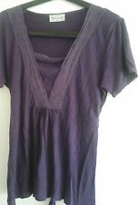 ladies short sleeved jersey top size 12