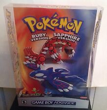 Pokemon Ruby And Sapphire Plastic Nintendo GBA Store Display (2003)
