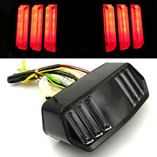 Motorcycle Turn Signals Tail Brake Light For Harley Chopper Bobber Cafe Racer