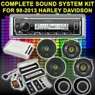 FOR HARLEY TOURING BAGGER SOUND SYSTEM AMPLIFIER KICKER 6.5