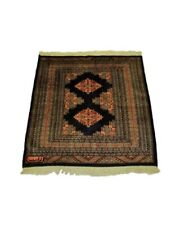 Bukhara Square Hand Knotted Wool Rug 36 x 36 inches