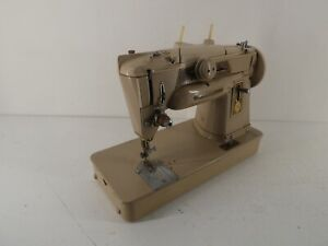 VINTAGE SINGER 401G SEWING MACHINE SLANT-O-MATIC/ZIGZAG UNTESTED G20