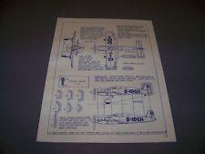 VINTAGE..1939 HE 100 V-8 & 1939 ME 209 V-1 RACER..3-VIEWS.. (360C)