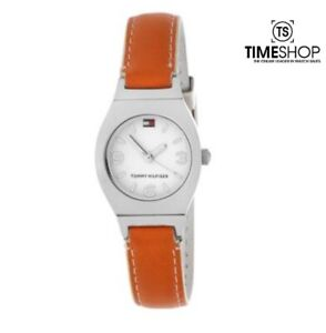 Tommy Hilfiger Square Leather Slim Womens Watch 1700383