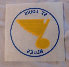 Vintage St Louis Blues Iron on T-shirt Decal