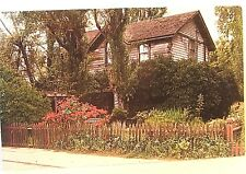 Vintage postcard LOLA MONTEZ old western home, GRASS VALLEY, CA