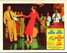 THE WACKIEST SHIP IN THE ARMY 1960 lobby card poster RICKY NELSON/JACK LEMMON