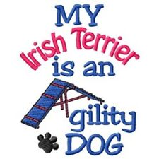 My Irish Terrier is An Agility Dog Fleece Jacket - Dc1952L Size S - Xxl