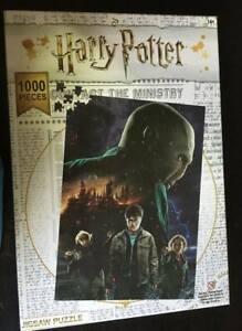 ~ HARRY POTTER ~ Burning Hogwarts  ~ Puzzle ~ 1000 Pieces ~ NEW ~ FREE Postage ~
