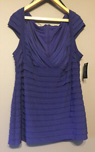 Women's Clothing, Top, Camisole, Eve-2270, Purple, Size 24. Was $159, Now $79.50
