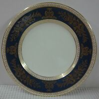 Wedgwood COLUMBIA-BLUE & GOLD Bread Plate BEST Multiple Available R4509