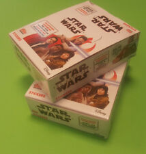 TOPPS Star Wars gli ultimi cavalieri Jedi Sticker 2 x Display - 60 cartocci NUOVO