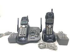 Panasonic KX-TG5432 Cordless Phone & Digital Answering Machine 2 Handsets