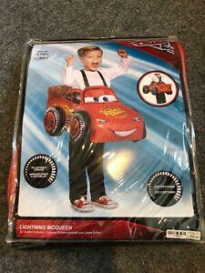 Lightning McQueen 3D Disney's Cars 3 Fancy Dress Halloween Toddler Child Costume