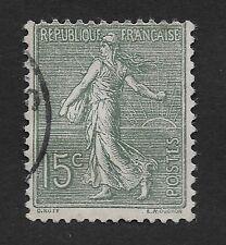 1903  France Stamp Sower 15C, Used Hinged (C4)