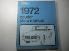 72 Ford Courier Shop Manual USED 1972