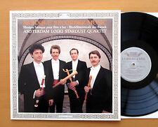412 130-1 Baroque Recorder Music Amsterdam Loeki Stardust Quartet 1987 EXCELLENT
