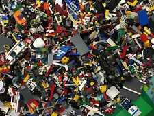 2 lbs Pounds Clean 100% Lego Parts Pieces from HUGE BULK LOT Bonus MINIFIGURES