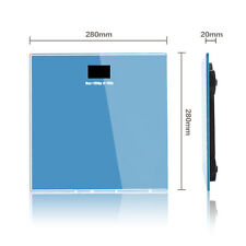 New Electronic Digital Bathroom Scale Glass Body Weight Scale 180kg/400lb