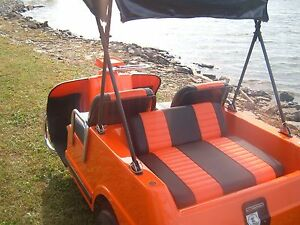 Harley davidson rear  golf cart seat